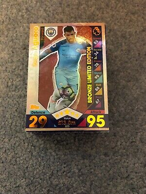 Match Attax 2016/17 Bundle Of 100 Cards All Different Inc Limited Edition Mint