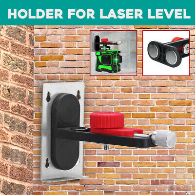 "1/4"" Adapter Thread T-shaped 360° Wall Bracket Holder Support  For Laser Level"