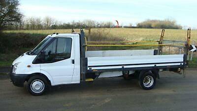 62 Reg Ford Transit 350 Lwb 14 Ft Foot Alloy One Stop Dropside Truck 125 Bhp