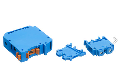 Europa Components CTSxx Blue DIN Rail Screw Terminal Connector Blocks 2.5 - 95mm