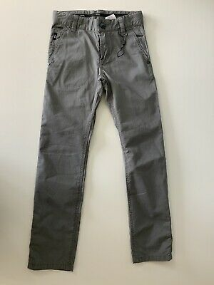 Hugo Boss Boys Slim Fit Jeans, Size Age 8 Years, 126. M, Grey, VGC