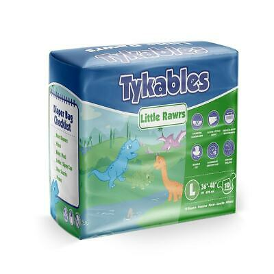 Tykables Little Rawrs - Adult Nappy Diaper - ABDL - Incontinence Pad