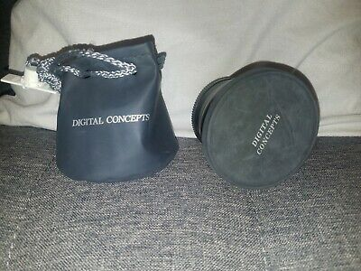 Digital Concepts Digital High Definition 2.2X Telephoto Camera Lens w/case/cover