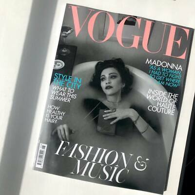 VOGUE Magazine Biritish UK June 2019 MADONNA MADAME X NEW