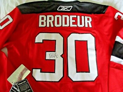 Martin Brodeur Signed New Jersey Devils Authentic 1991 Ccm Rookie X