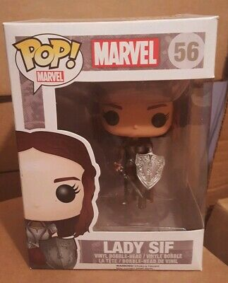 New Funko Pop! Marvel Lady Sif Thor Series Disney #56 VAULTED RETIRED