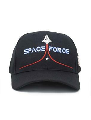 Official Space Force Hat - Black (Made in USA)