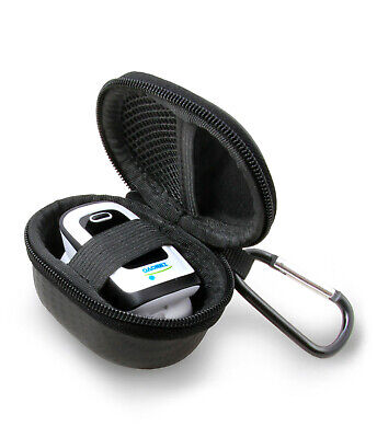 Black Fingertip Pulse Oximeter Case For Innovo Deluxe, Zacurate Pro and More