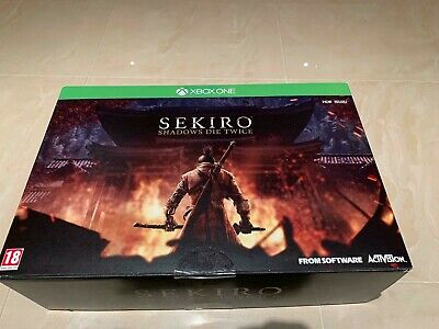 Sekiro Shadows Die Twice Collectors Edition For Xbox One New
