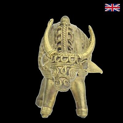 Dokra Bull Figure in Brass - Dhokra - Indian Tribal Art