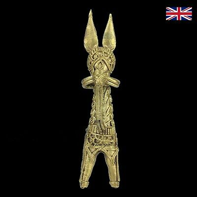 Dokra Donkey Figure in Brass - Dhokra - Indian Tribal Art