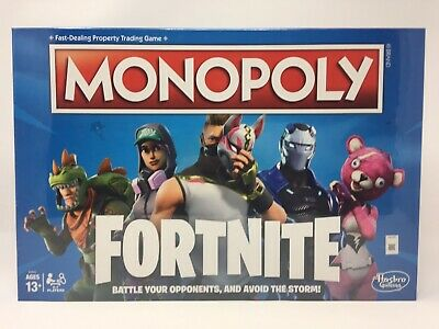 Fortnite Monopoly Board Game Limited Edition NEW Sealed In Box!