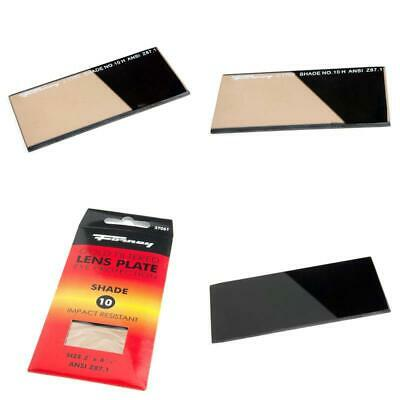 Forney 57061 Lens Replacement Gold Welding Filter, 2-Inch-By-4-1/4-Inch, Shade-1