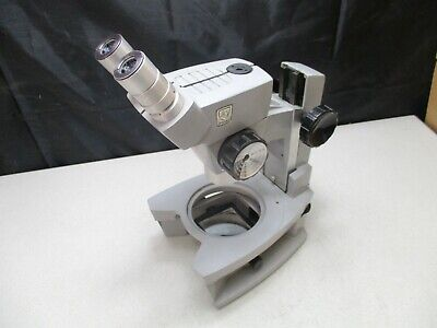 AO American Optical Microscope With 2 Bausch & Lomb 15X W.F. Eyepieces Cycloptic