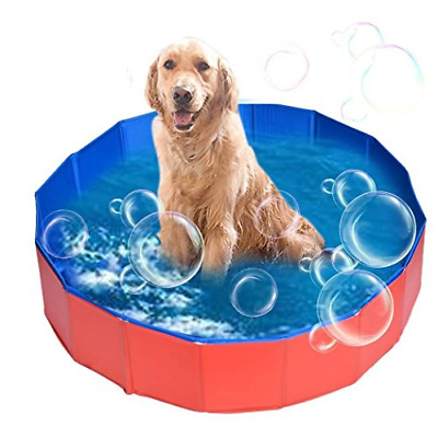 AceZone Collapsible Dog Bathtub Pet Bathing Tub Cats Dogs Swimming Pool Water x