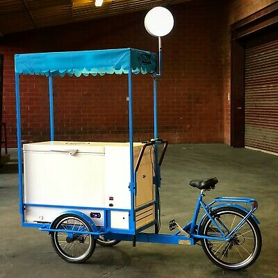 Ice Cream Bike for Sale | Mobile Ice Cream Cart for Sale-Battery Powered