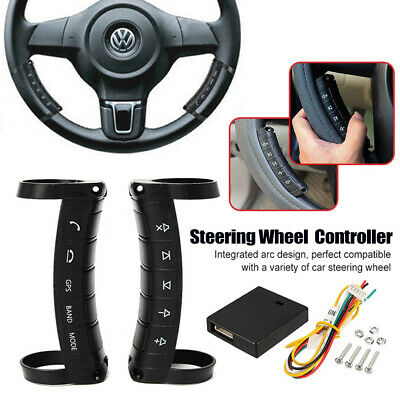 Car Steering Wheel Button Remote Control For Stereo DVD GPS-Universal Wireless