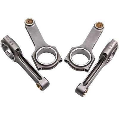 Connecting Rods for Opel Vauxhall Astra Zafira 2.0L C20LET Z20LET C20XE​ 143mm