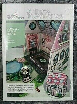 Anita Goodesign  Playhouse Princess Dream House  Embroidery Design CD ,sealed