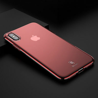 Baseus Ultra Thin Soft Silicone TPU Clear Case Cover For Apple iPhone X