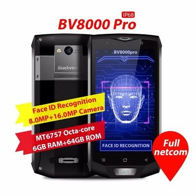 Blackview Bv 8000 Pro 7.0 Android Octa Core 6+64Gb Dual Sim Unlocked Smartphone