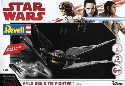 (RV06760) - Revell Star Wars Build & Play Kylo Ren's Tie Fighter