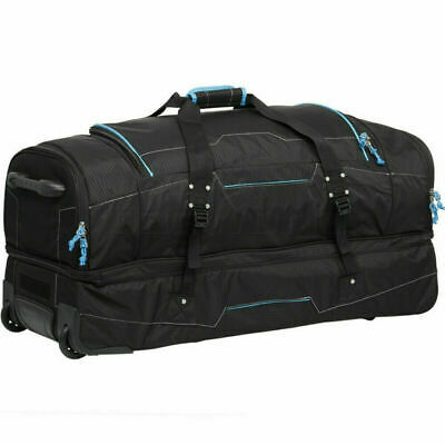 High Sierra Ultimate Access Extra Large 91cm Backpack Drop Bottom Wheel Duffel B