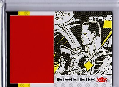 2018 Fleer Ultra X-Men STAX Insert 24C Bottom Layer Mister Sinister UD SKC