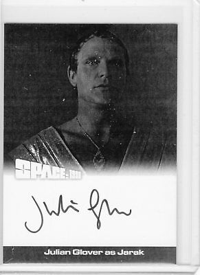 Space 1999 Series 2 BW Proof Autograph JG2 Julian Glover Auto Unstoppable SFC