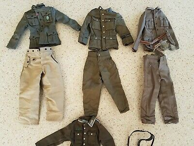 DRAGON Non Reversible 1//6 WWII German Winter Over trousers