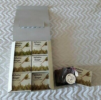 White Sage Incense Cones  12 Boxes of 10  Kamini Aromatics