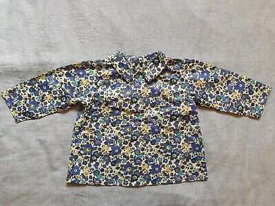 Beautiful Liberty Print Blouse, 12 Months, Never Worn