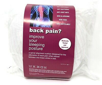 Side Sleeping Knee Pillow Rophi Cushion To Reduce Back Pain Spine Alignment