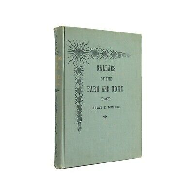 Ballads of the Farm and Home - antique Mennonite rural poetry from 1902