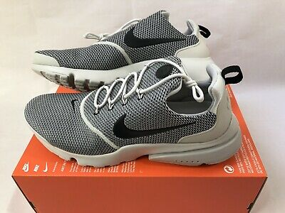 e5bb9b4496c06 NIKE AIR PRESTO Fly Mens Size 12 Running Shoes Olive Green White ...