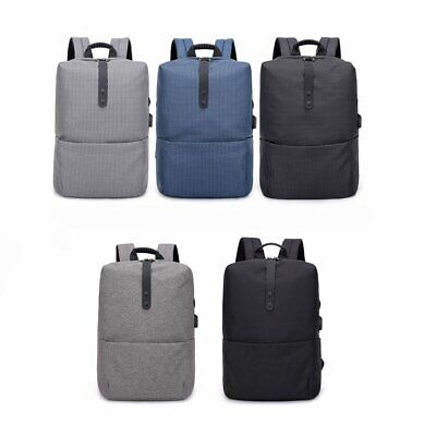 New Casual Laptop Backpack External USB Charging Anti-theft Bags
