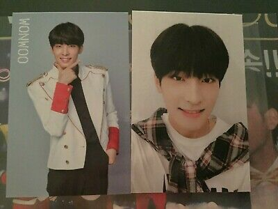 Wonwoo - Seventeen Ideal Cut  PhotoCards