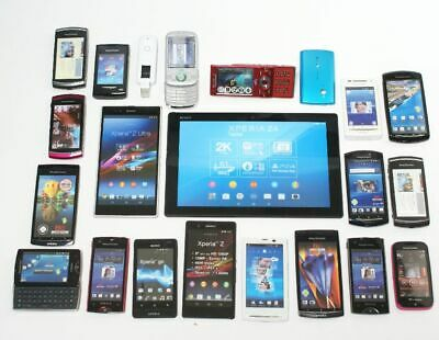 19 Handy + 1 Tablet + 1 Surfstick Dummy's - Attrappen - Sony bzw Sony Ericsson