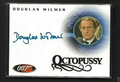 James Bond 007 Autograph Auto DOUGLAS WILMER as Jim Fanning in Octopussy A41