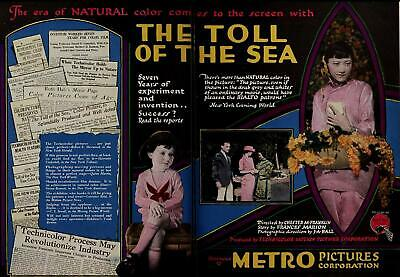 The Toll of the Sea - 1922 - Anna May Wong Kenneth Harlan Silent Drama Film DVD