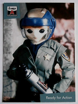 Gerry Anderson's Lost Worlds - Card #18 - SPACE POLICE - Unstoppable 2015