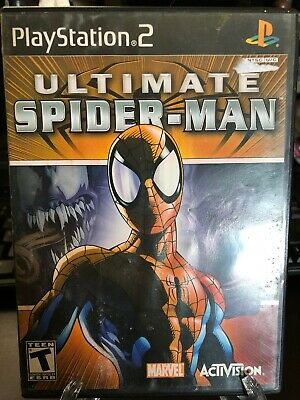 Ultimate Spider-Man (Sony PlayStation 2, 2005)*No Manual*