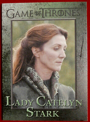 GAME OF THRONES - LADY CATELYN STARK - Season 3 - Card #51 - Rittenhouse 2014