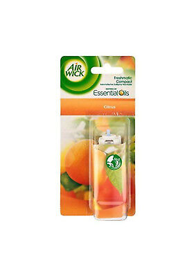 Airwick Freshmatic Compact CITRUS FRUITS 24ml  (Pack of 3 refills)