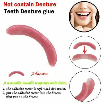 New Denture Adhesives Glue 1pc Temporary Smile Comfort Fit Cosmetic Teeth