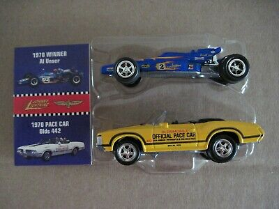 Al Unser Car CE Loose Johnny Lightning Indianapolis 500 /'70 Olds 442 Pace Car