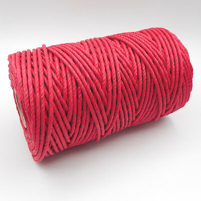 Real Rope for Clock Comtoise Clock 500 Gr (Red) Rope and Cord Clock
