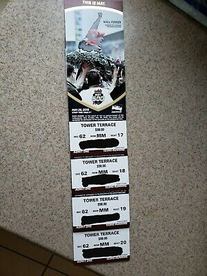 Four - Indy 500 Tower Terrace Tickets For Sale - Seats Above the Pits Great View