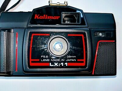 NEW Vintage Kalimar LX:11 Point & Shoot 35mm Film Camera with Case