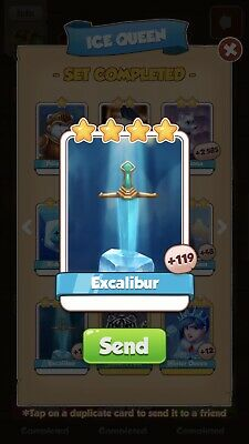 Coin Master Cards Excalibur Fast Delivery